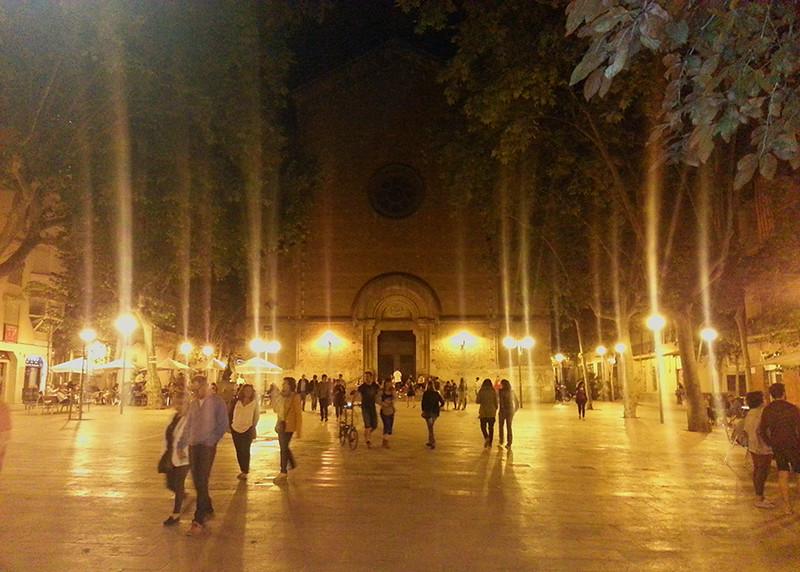 May Evening, Barcelona
