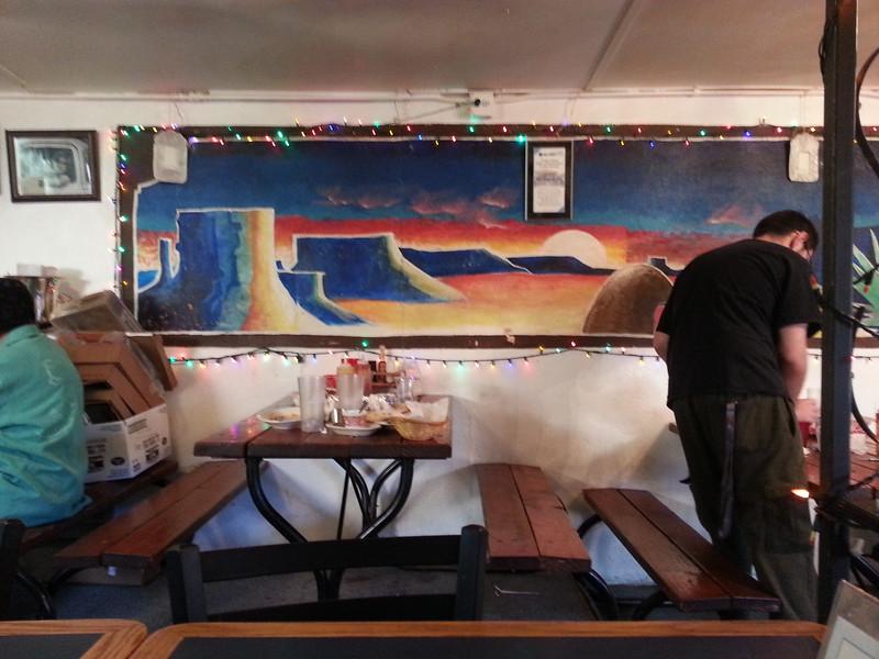 Cafe, El Rio, New Mexico