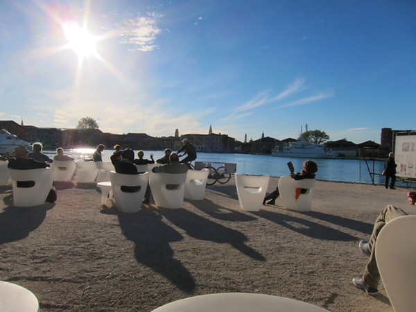 Relaxing Afternoon, Arsenale, Venice