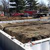 * Installing foundation walls