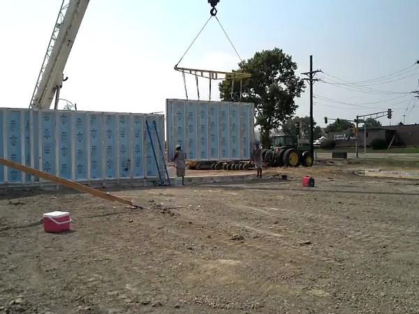 Setting Wall Panel