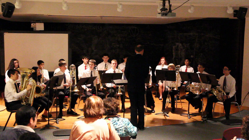 Three Pieces from the Water Music - Part I<br /> By George Frederic Handel, transcribed by Robert King.<br /> Performed by the Acton-Boxborough Regional High School Brass Ensemble, directed by Mr. Chris Baird.