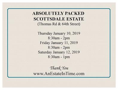 Estate Sale Photo Message-welcome