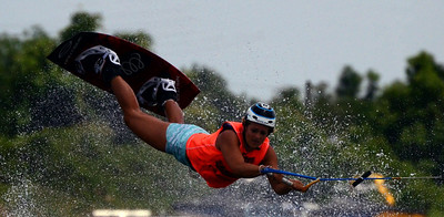 Raimi Merritt, 18-year old Six-Time World Cup Wakeboarding Title holder.