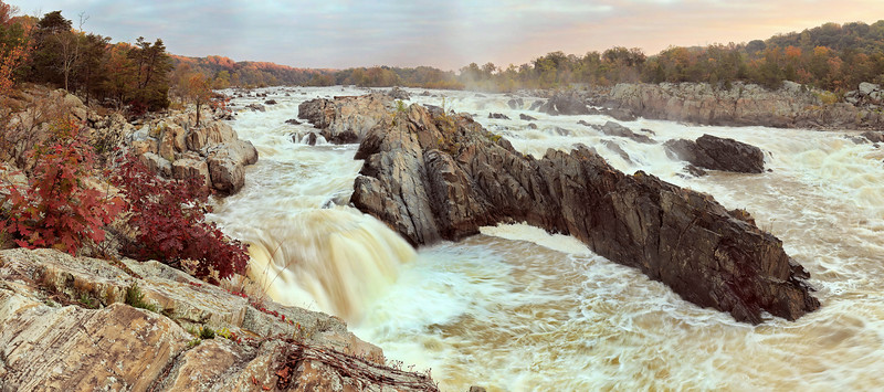 Great Falls of the Potomac (Pano)