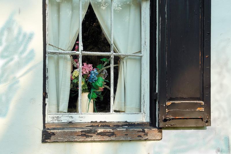 Window at Stone Fence Garden