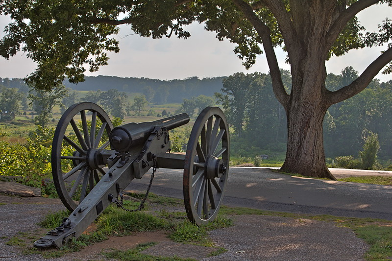 Cannon at Devil's Den
