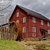 Grist Mill in Red