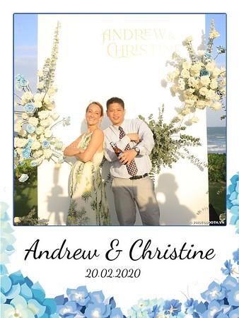 Andrew & Christine wedding instant print photobooth @ The Anam Luxury Beach Resort Nha Trang | Chụp hình lấy liền Tiệc cưới tại Nha Trang | Photobooth Nha Trang