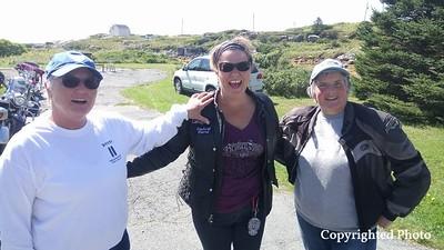 Catherine Gillis Durrett, Candace Slaunwhite and Peggy Dingle