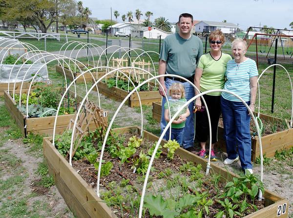 Four generations of gardeners.