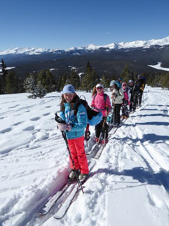 Fifth Grade Outdoor Ed Ski Trip