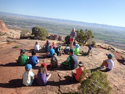 Kindergarten Bouldering Spring Outdoor Ed