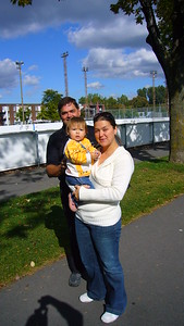 George Widz & Daughter Jenny and Grand Daughter