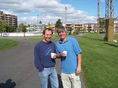 Bob Dupuis & Glen Cambridge