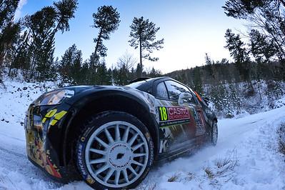 chardonnet s de la haye t (fra) citroen DS3 WRC  n°18 portrait 2015 RMC (JL) -50
