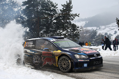 ogier s ingrassia j (fra) VW polo R WRC n°1 2015 RMC  (JL)-22