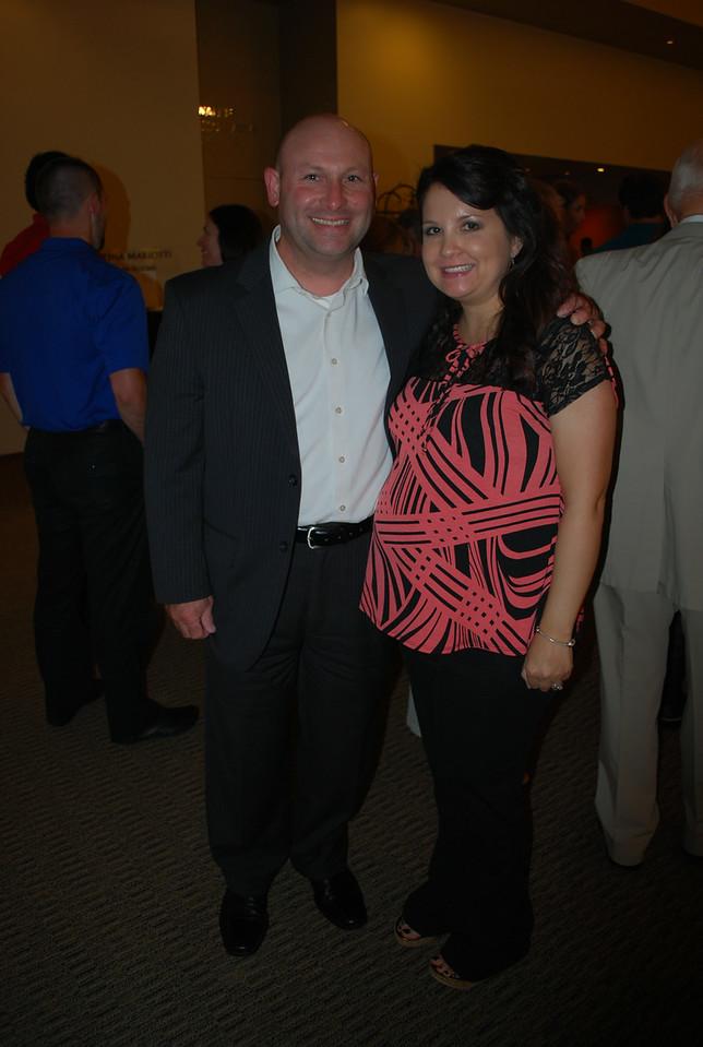 Ernie and Kim Woodard_