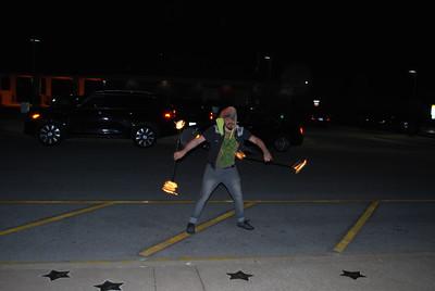 Flame twirler