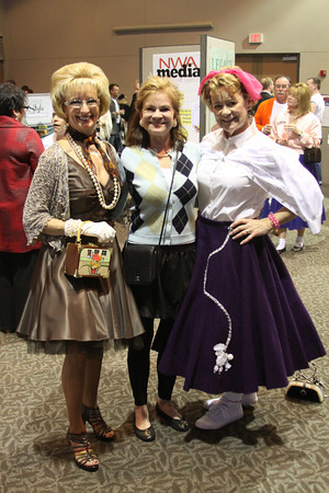 Carolynn Gibson, Dorothy Hanby, Gay Riner