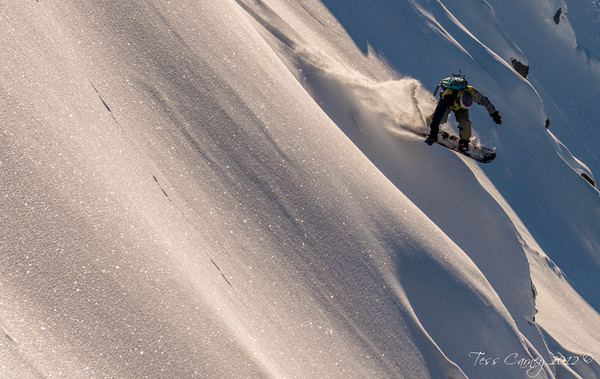 Powder day at Olympus ski field with Shane Orchard