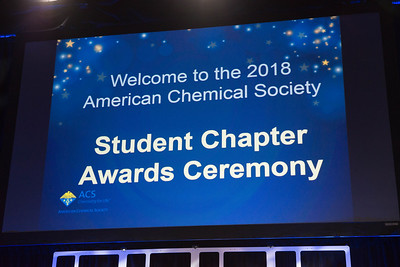 Student Chapter Awards - 2018