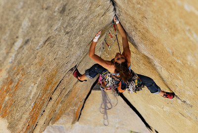 Jasmin Caton on Astroman, Yosemite