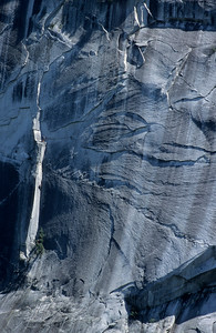 Rock climbers on the Grand Wall. Squamish, British Columbia, Canada