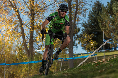 Action from the Cyclo X Flatirons race