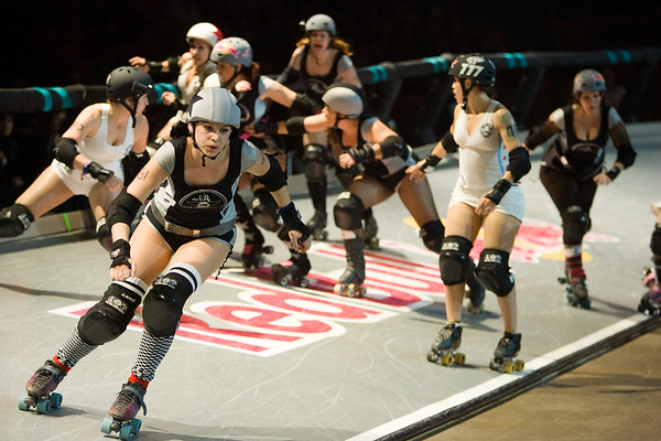 Windy City Rollers Vs. LA Derby Dolls Banked Jam