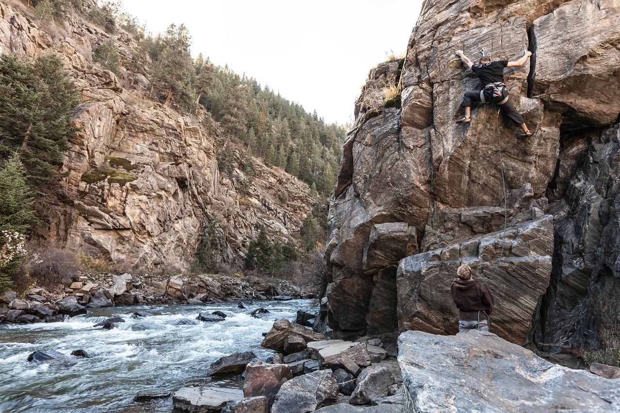 Capitalist Crag - Clear Creek