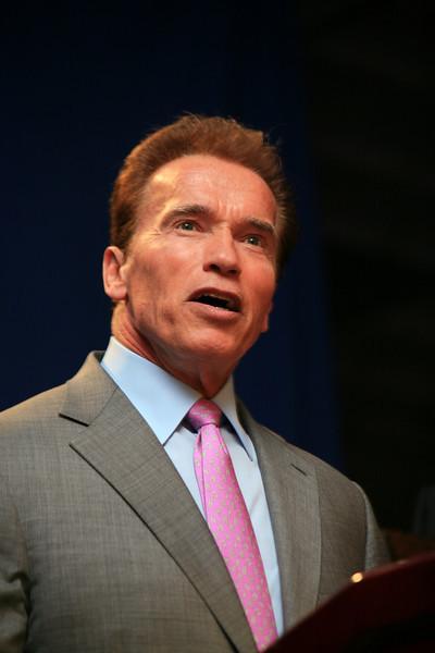 09 Fall Conf. Gov. Schwarzenegger -San Diego, CA