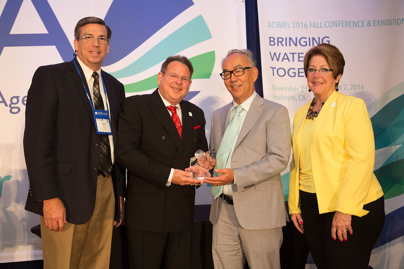 Opening Breakfast with Presentation of Excellence in Water Leadership Award and Lifetime Achievement Award. Keynote Speaker Randy Fiorini.