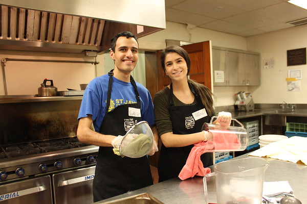 ACYOA Seniors Service Project - Friday Night Supper Program