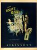 1951 ATKINSONS Ballet Russe fragrance Argentina (Para Ti mag)
