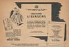 1951 ATKINSONS Ballet Russe fragrance Spain half page