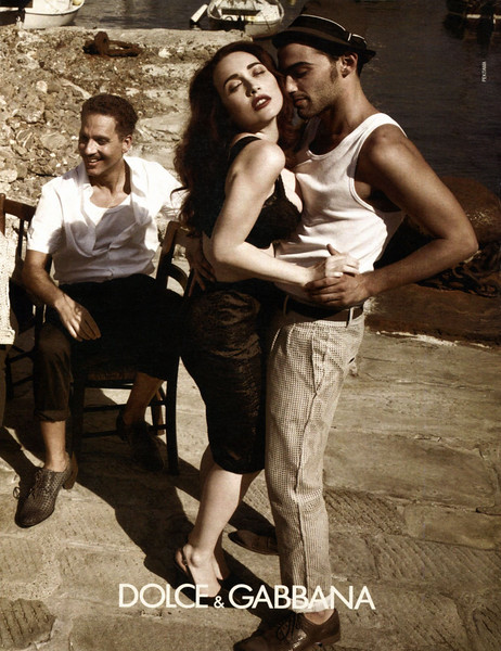 2012 DOLCE & GABBANA Spring-Summer 2012 Russia (Men's Health)
