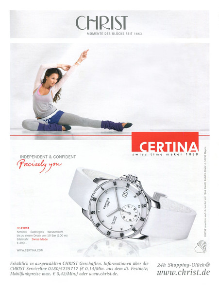 2012 CERTINA wristwatches: Germany (Myself)