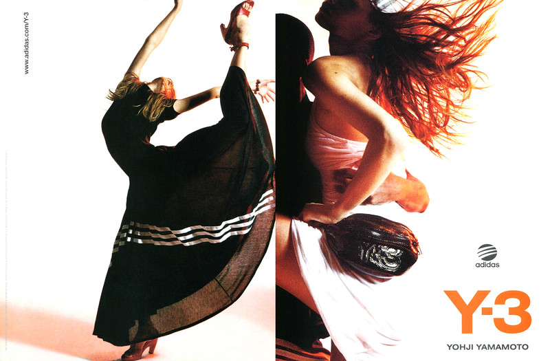 2006 YOHJI YAMAMOTO Y3 spring-summer 2006 collection  Spain (spread Vogue)