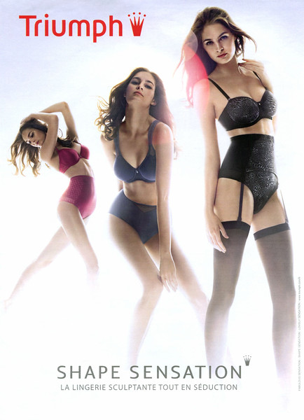 2012 TRIUMPH Shape Sensation lingerie: France (Gala)