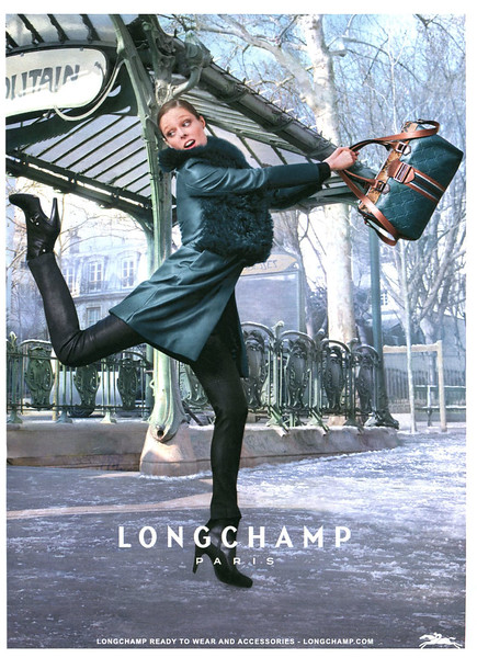 2012 LONGCHAMP leatherware Spain (SModa) featuring Coco Rocha