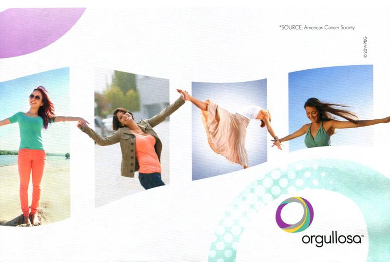 2014 ORGULOSA Procter & Gamble's program US (half page Elle)