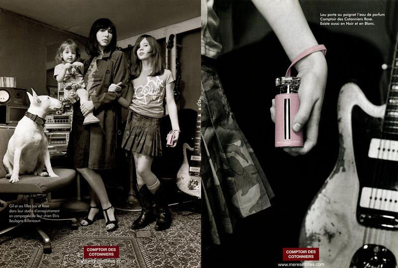 2004 COMPTOIR DES COTONNIERS fragrance France (2 consecutive pages)