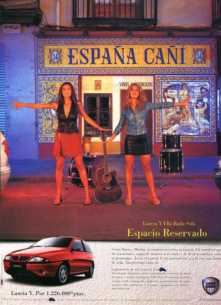 2000 LANCIA cars Spain (Lecturas)