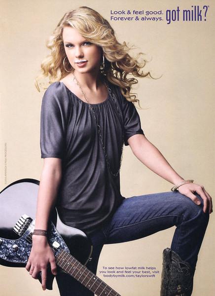 2010 GOT MILK¿ US (Teen Vogue) featuring Taylor Swift