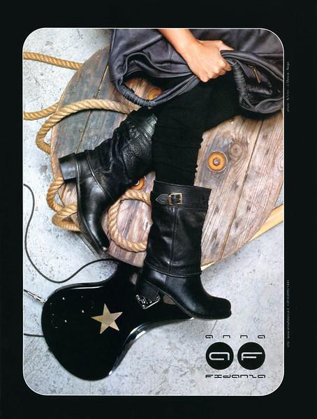 2007 ANNA FIDANZA footwear Italy (Elle)