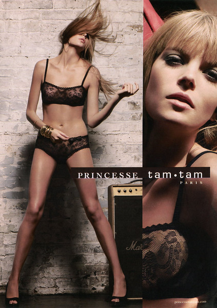 2009 PRINCESSE TAM TAM  lingerie France (Gala)