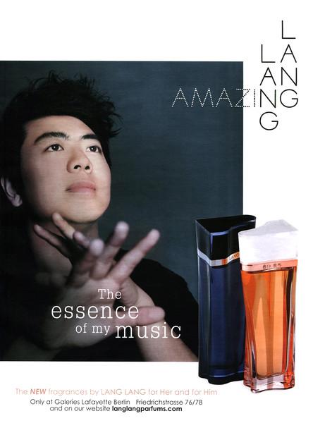 2015 LANG LANG Amazing fragrances Germany (GQ)
