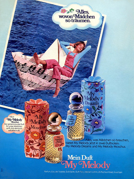 1982 MY MELODY by Moschus - My Melody Dreams fragrances Germany