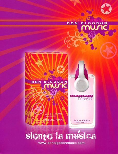 2008 DON ALGODÓN Music fragrance: Spain